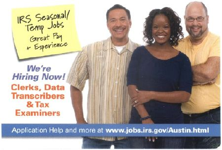 IRS jobs postcard-a