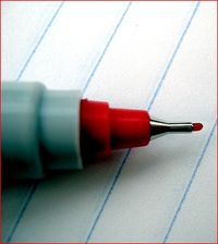 Red pen_crystl