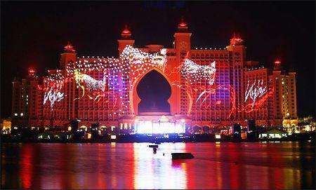 Dubai Atlantis gala opening