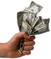 Hand holding money (3)