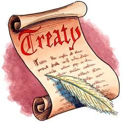 Treaty drawing