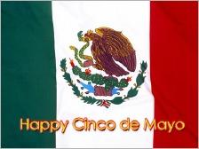 Cinco de mayo flag