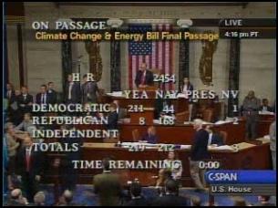 Energy bill vote 062609