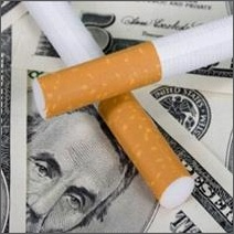 Cigarette taxes