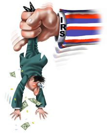 IRS shakedown