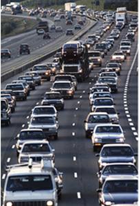 Traffic_crowded highway