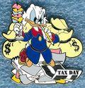 Scrooge mcduck tax pin