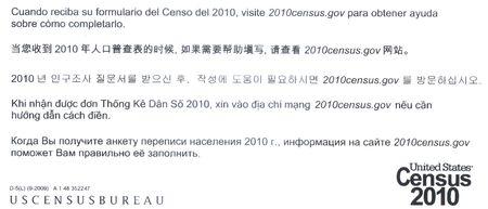 Census2010 letter languages