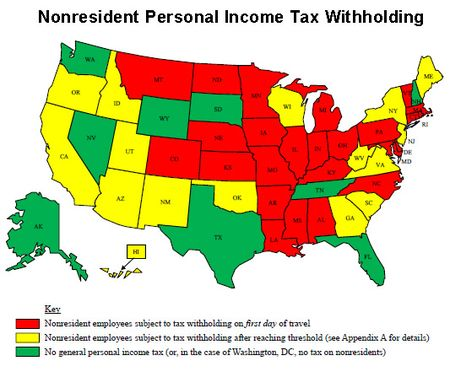 Nonresident withholding