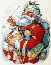 Santa by nast (2)