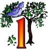 1 partridge pear tree