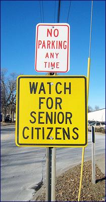 Senior citizens sign_Ethan Prater