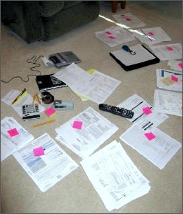 My tax filing preparation