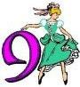 12 days day 9 ladies dancing