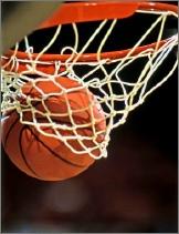 Ball through hoop