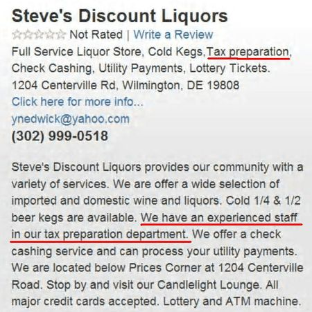 Steves discount liquors and tax services highlighted2