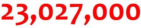 23 million noncash donations