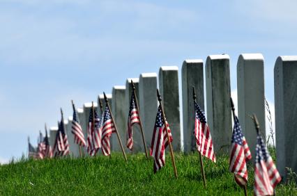 Memorial Day Arlington National Cemetary_iStock_000009510083
