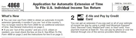 Deadline for irs extension