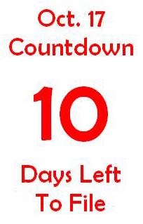 October 17 countdown 10
