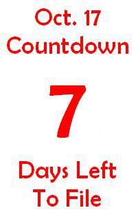 October 17 countdown 7