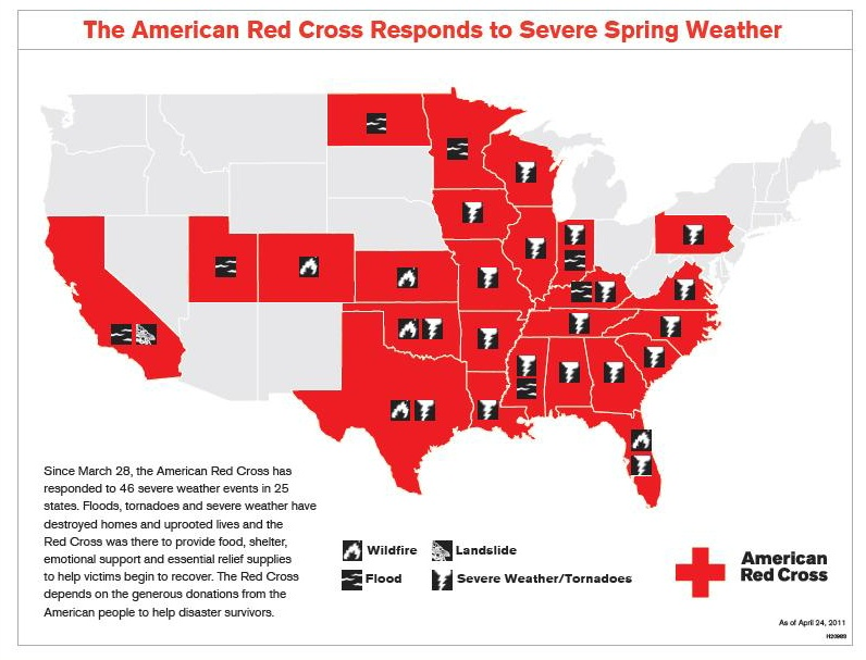 American-Red-Cross-severe-weather-April-2011-map