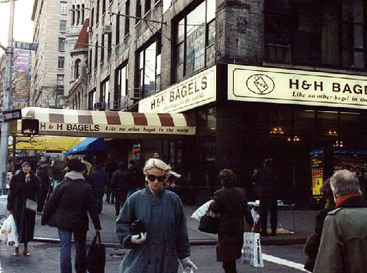 H and h bagels store