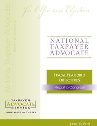 Taxpayer Advocate FY12 report June 2011