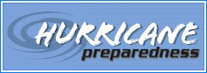 Hurricane preparedness logo