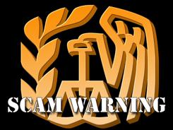 Tax scam logo