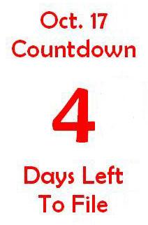 October 17 countdown 4