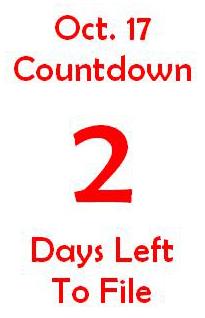 October 17 countdown 2