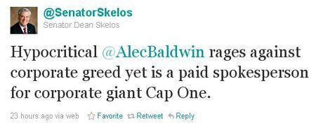 Skelos comments on Baldwin spokesman job