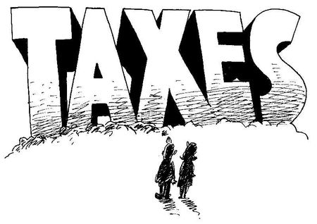 Overwhelming taxes
