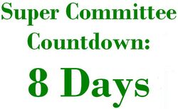 8 Days Super Committee Countdown