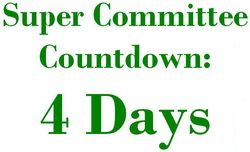 4 Days Super Committee Countdown