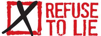 Refuse-to-lie-logo