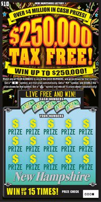 New-Hampshire lottery 250K tax free