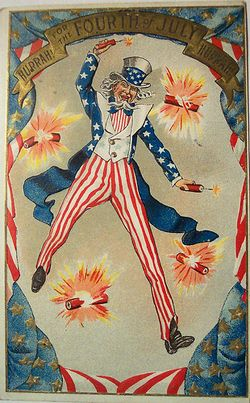Uncle-sam-fireworks-4th-of-july-vintage-postcard