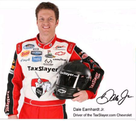Dale Earnhardt Jr Taxslayer NASCAR sponsorship