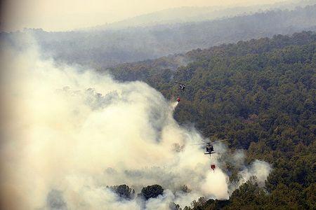 Bastrop, Texas, fire Sept. 6, 2011_National Guard photo