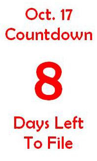 October 17 countdown 8