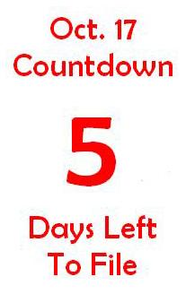 October 17 countdown 5