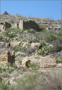 Shafter big bend ghost town