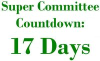17 Days Super Committee Countdown