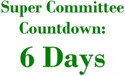 6 Days Super Committee Countdown