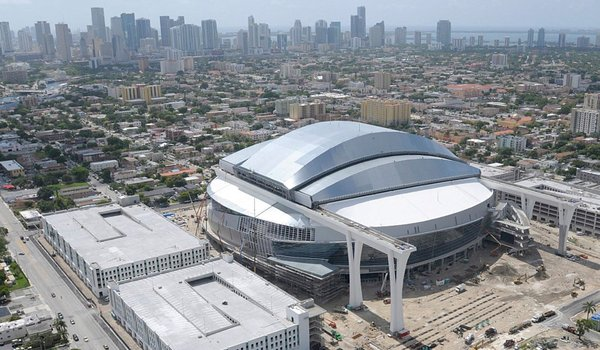 Miami Marlins New Taxpayer Funded Stadium On Schedule But Will It Pay Off