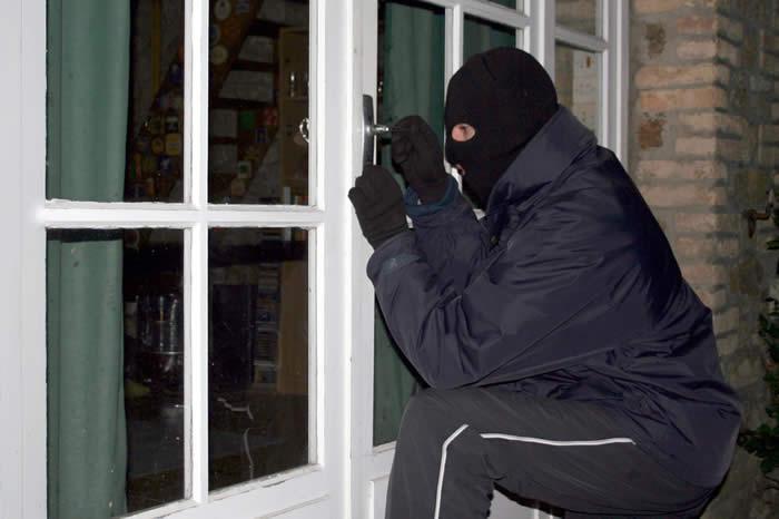 Daytime burglar via xpress protection