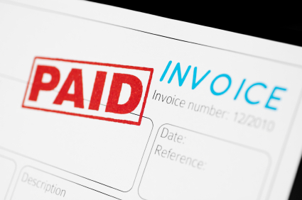 Invoice paid photo by raphspam via iStock_000014852469XSmall