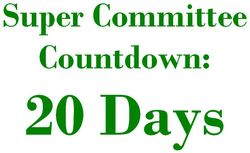20 Days Super Committee Countdown